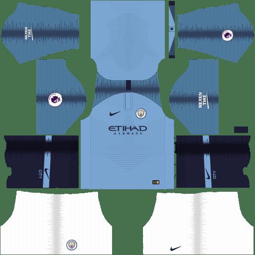 FTS 18 kitsPremierLeague