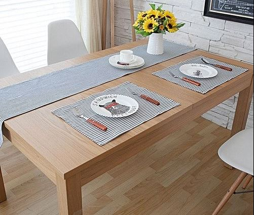 How Placemats Protect Wood Table