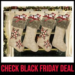 AISENO - Black Friday Deals on Xmas Stockings Black Friday Sale