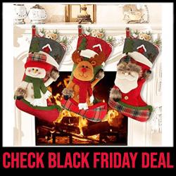 Aiduy Xmas Decoration Stockings Black Friday Sale