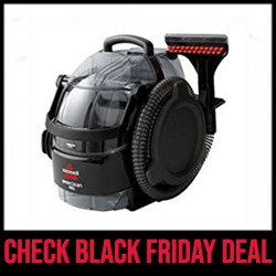 Bissell 3624 Spot Clean - Best Portable Steam Cleaner Black Friday Sale
