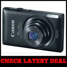 Canon PowerShot ELPH 300- Best Camera with Autofocus Black Friday Sale