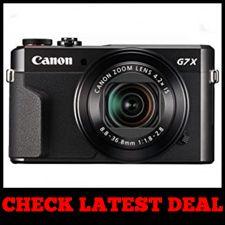 Canon PowerShot G7 X Mark II - Best for Youtube Videos Black Friday Sale