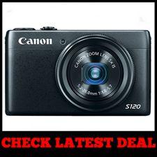 Canon PowerShot S120 - Best Compact DSLR Camera Black Friday Sale