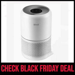 Core 300 LEVOIT Air Purifier for Allergies with True HEPA Black Friday Sale