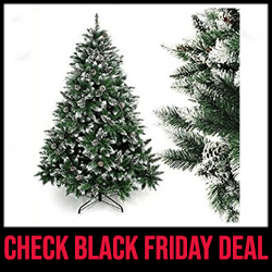 Hinged Artificial Christmas Tree Black Friday Sale Black Friday Sale