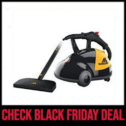 McCulloch MC1275 - Best Steam Cleaner with Long Cord Black Friday Sale