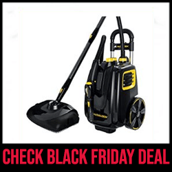 McCulloch MC1385 Deluxe - Best Pressurized Steam CleanerBlack Friday Sale