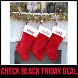 Personalized Christmas Stockings Black Friday Sale