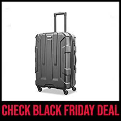 Samsonite Centric Best Lightweight Luggage Sets Black Friday Sale
