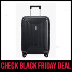 Samsonite Neopulse Hand Suitcase for Business Travel Black Friday Sale