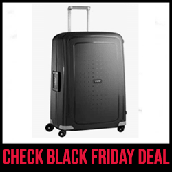 Samsonite S'Cure Best Luggage Sets for the Money Black Friday Sale