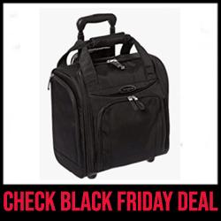 Samsonite Upright Best Underseater Bag with Wheels Black Friday Sale