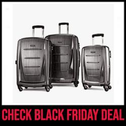 Samsonite Winfield 2 Luggage Set with Spinner Wheels Black Friday Sale